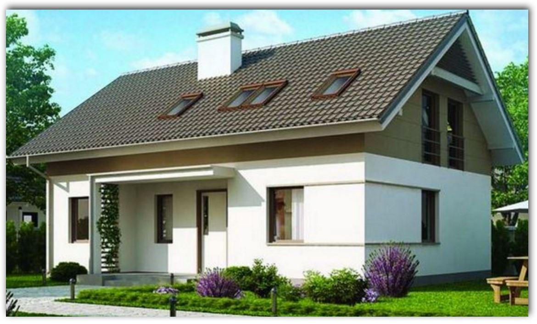 Fotos de casas de dos niveles moderna con fachada de teja for Imagenes de casas