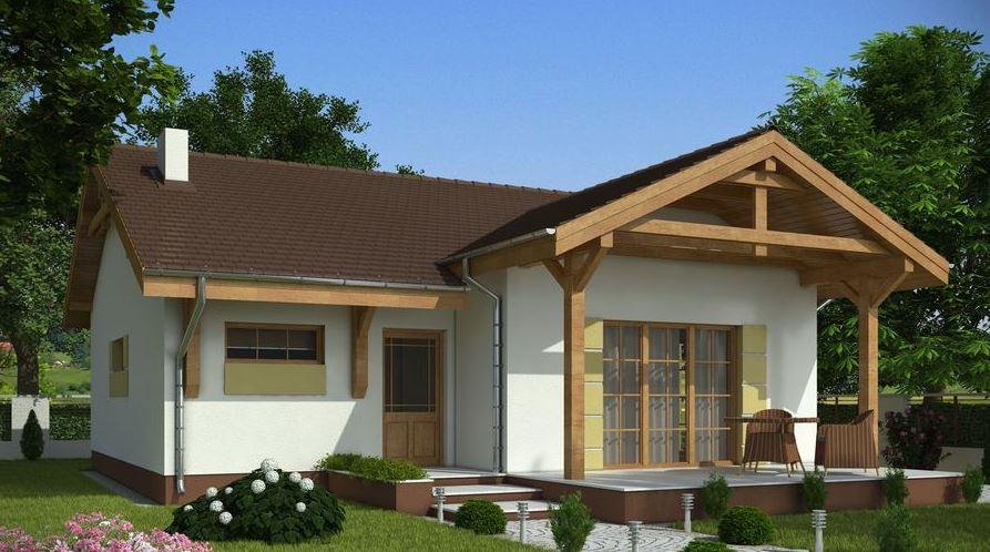 Modelo de casa de 10x10