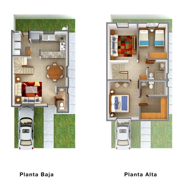 Diferentes casas de 2 pisos chiquitas y bonitas for Disenos de casas chiquitas y bonitas