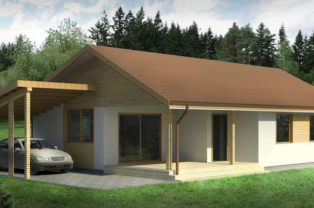 Plano de casa de 115 metros cuadrados
