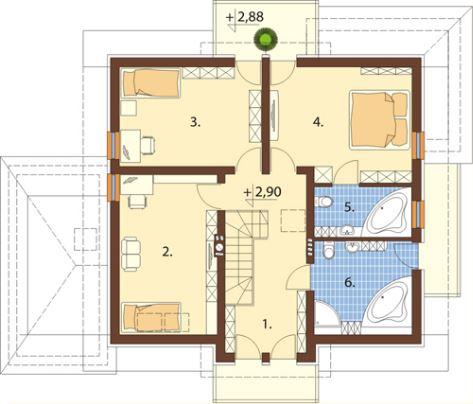 Planos de casa de 2 plantas hd