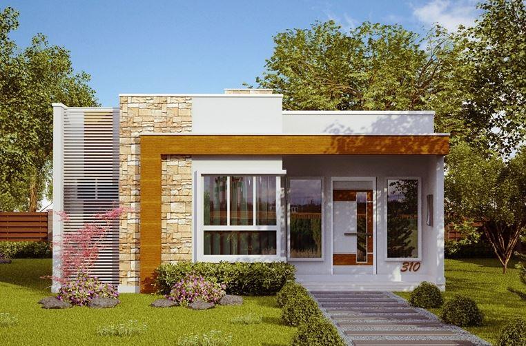 Planos de casas de una sola planta en mexico bonitas - Planos de casas modernas de una planta ...