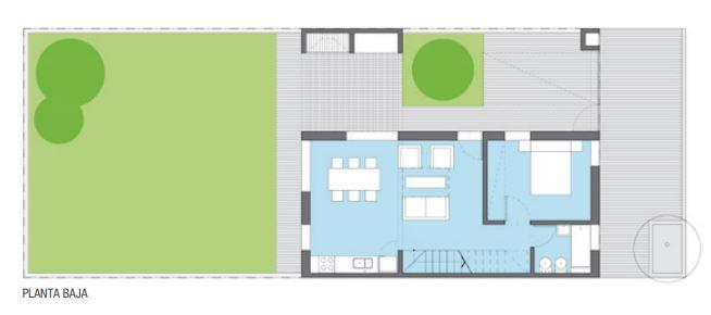 Planos de duplex 4 metros de frente