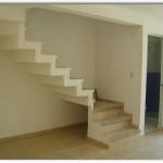 Planos medidas de escaleras de casa de infonavit