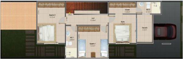 Proyectos de duplex de 4 m por 7,50 m