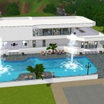 Casas modernas sims 3 sin expansiones