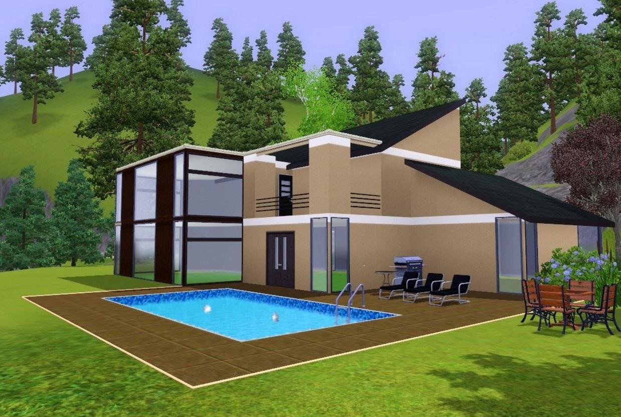 Casas sims sin expansiones