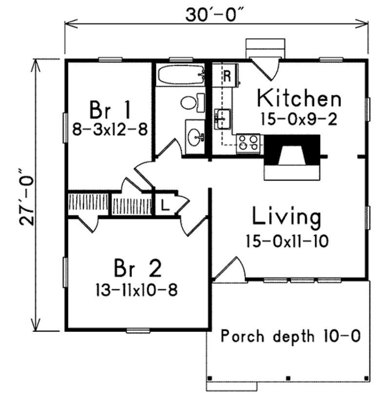 Diseños de casas pieza cocina