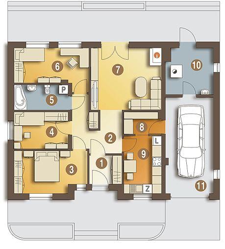Modelos de casas sencillas y bonitas for Disenos de casas pequenas