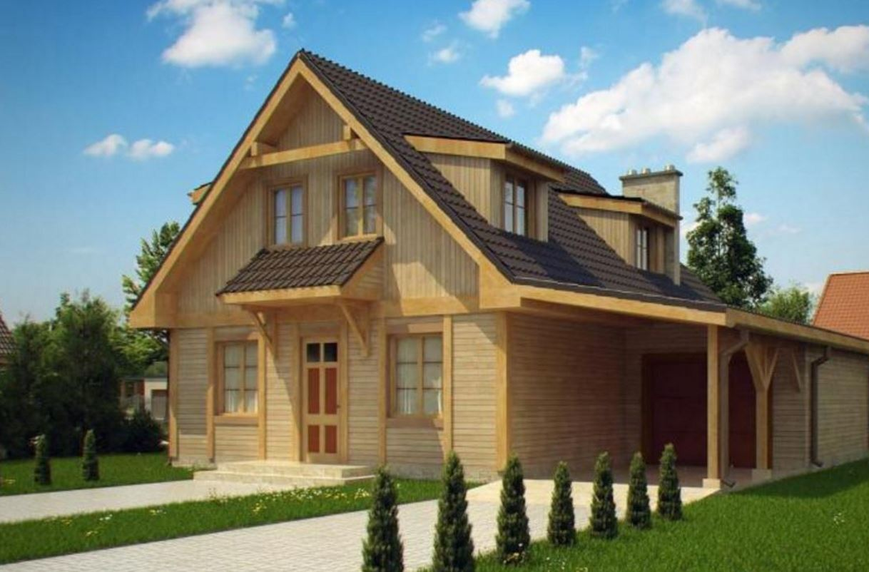 Tejas de ceramica - Casas de madera pequenas ...