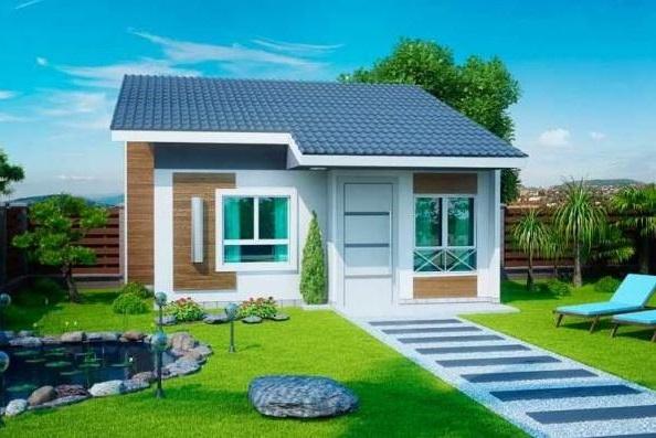 Fachadas modernas para casas pequeñas