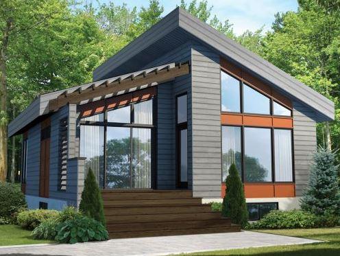 Modelos de casas cuadradas de 85m2