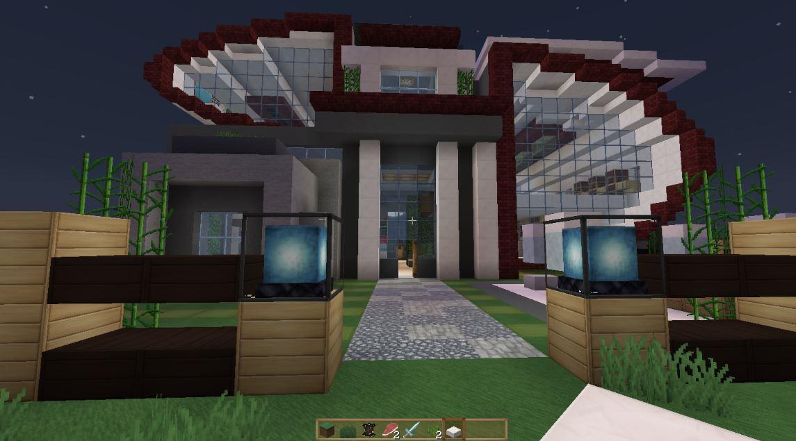 Modelos de casas modernas para minecraft imagenes