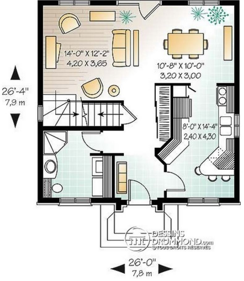 Modelos de casas sencillas para construir en 2 plantas