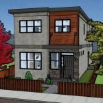 Modelos de casas sencillas para construir en dos pisos