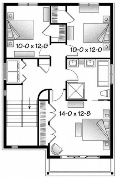 Planos de casas de 7 x 15 metros