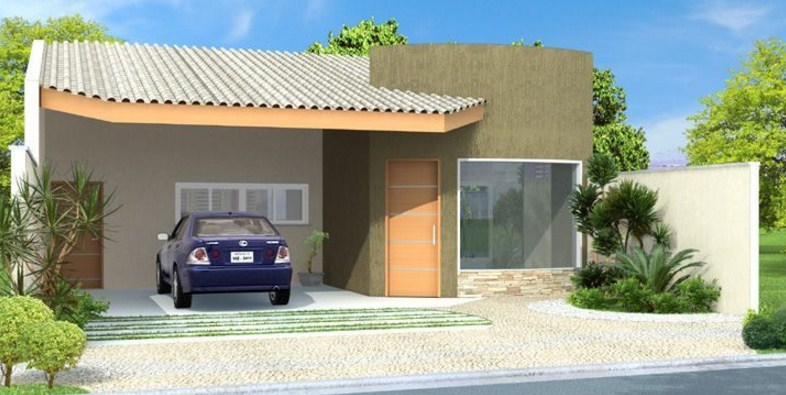 modelos de fachadas de casas peruanas