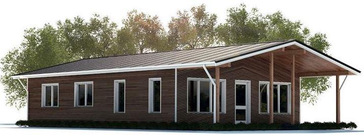 Diseño de casa de 110 metros cuadrados