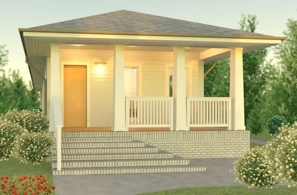 Diseño de vivienda en terreno angosto