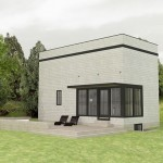 Planos de casas rectangulares pequeñas