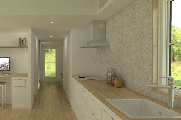 Planos de casas rectangulares pequeñas fotos interiores