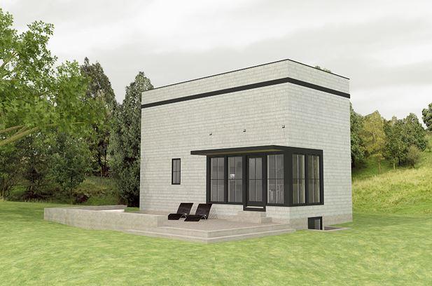 Planos de casas rectangulares peque as - Planos de casas de una planta pequenas ...