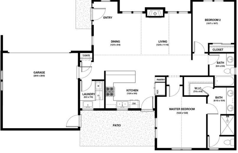 Planos de casa finca economicas