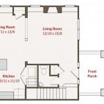 Planos de casas de 2 plantas de 60 metros cuadrados