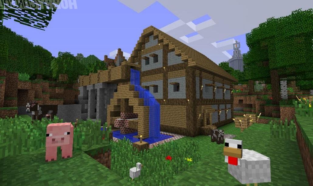 habitaciones en Minecraft PE