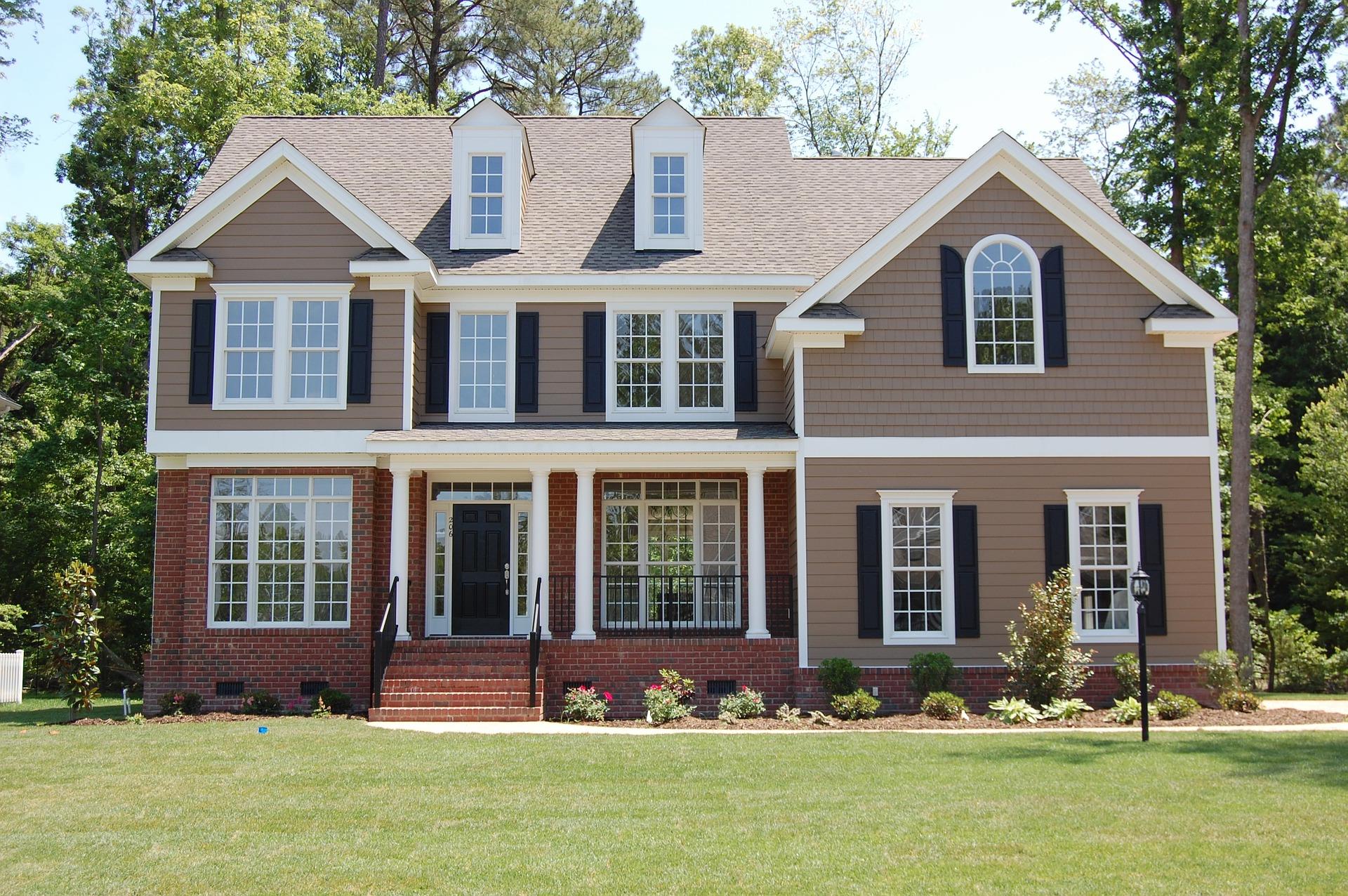 Casas residenciales estilo americano