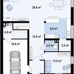 Como hacer una casa chica de dos pisos con techo liviano y de dos domitorios