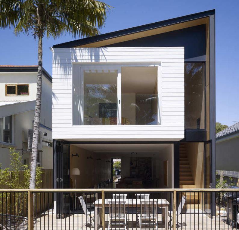 Fachadas de casas sencillas de 4x4