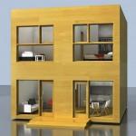 Materiales de construcción para una casa de 6×6 con segundo piso
