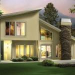 Modelos de casas de 2 pisos sencillas