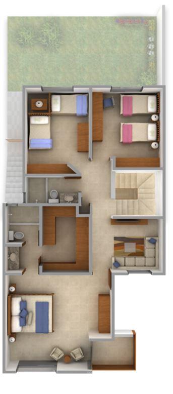 Planos gratis aprobados casas con sotano
