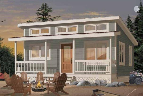 casa de madera 6x6