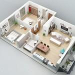 Diseno apartamentos de 84m2