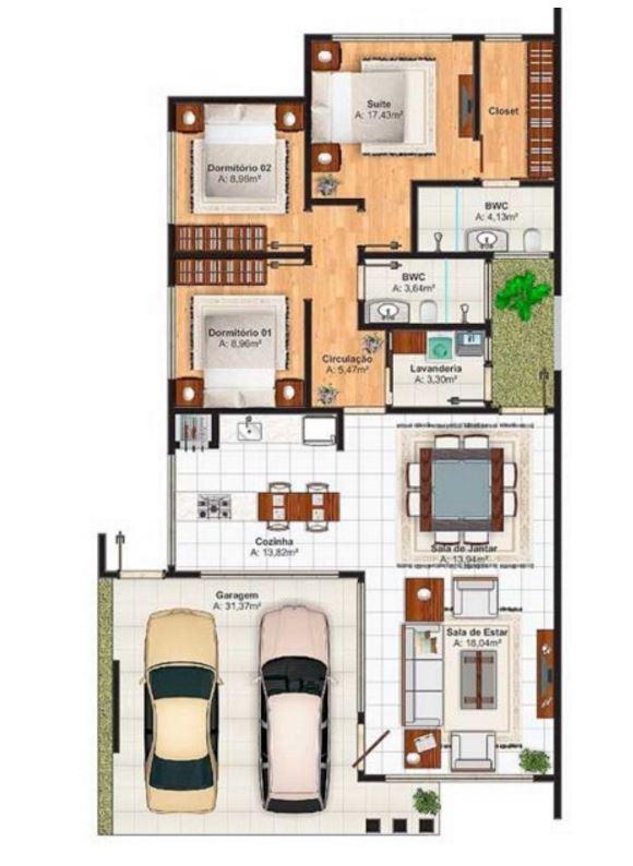 Modelos de casas a la calle en segunda planta en 10 metros for Plano casa un piso