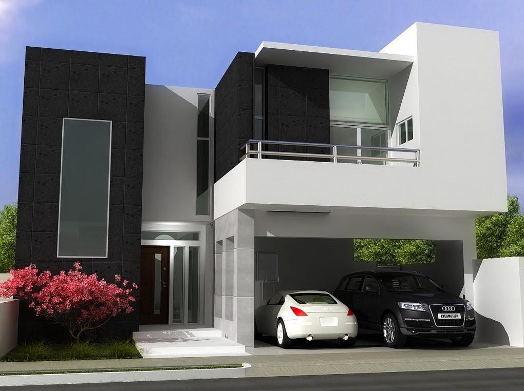 Fachadas de porches casas de 2 pisos for Modelos de fachadas de casas de dos pisos