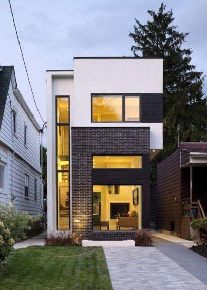 fachadas-de-casas-angostas-modernas