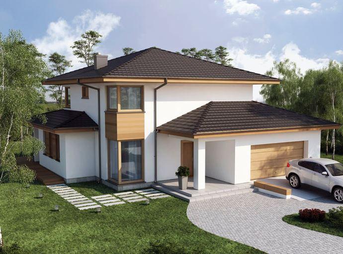 fachadas-de-casas-con-doble-cochera