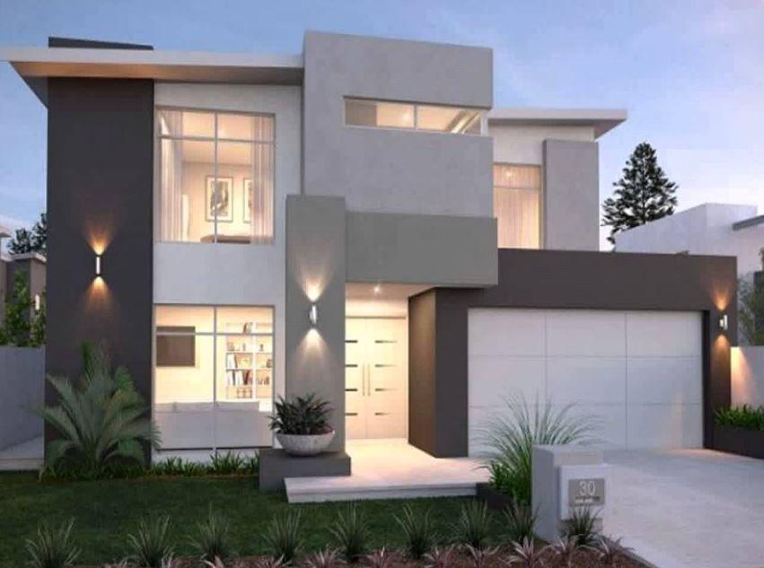 Descargar imagenes de casas modernas for Fachadas para casas pequenas de dos pisos