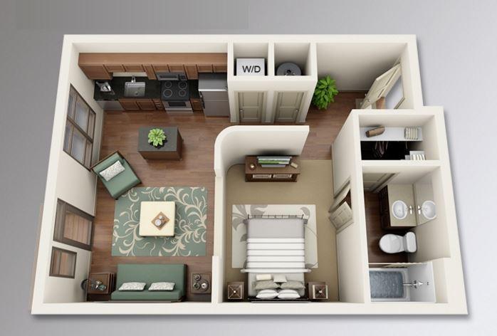 Planos de casas planos de casas con todo tipo de for Diseno de apartamento de soltero