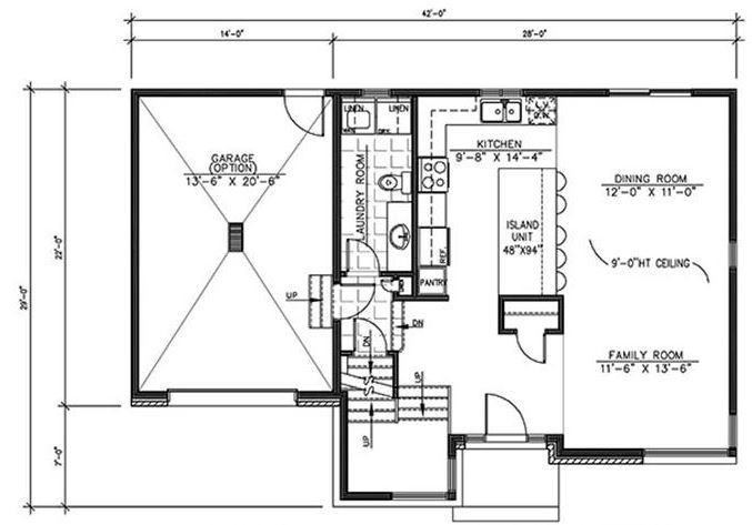 Planos de casas de 2 plantas y tres dormitorios