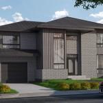 Planos de casas de dos plantas y tres dormitorios