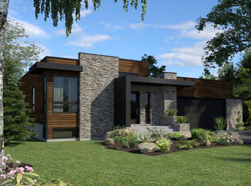 casas sencillas y modernas para construir en 250m2