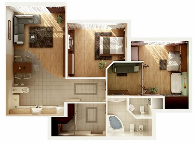 modelos de casas para una sola persona