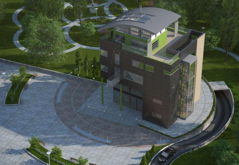 Fachadas y planos de edificios para departamentos for Edificio de departamentos planos
