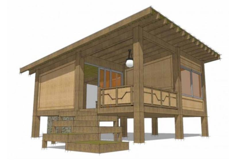 Plano de casa japonesa pdf for Fachada de casas modernas estilo oriental