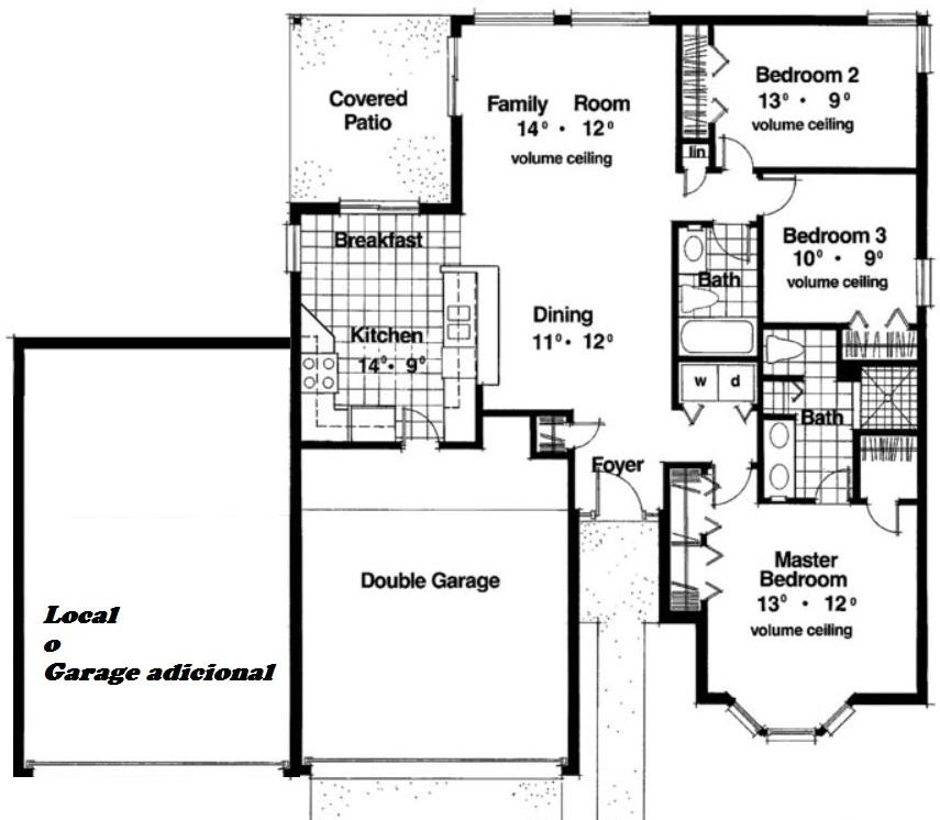 planos de casas de dos pisos 8×15